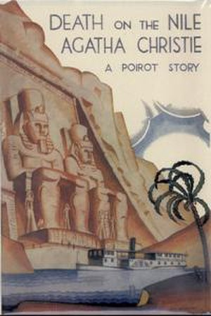 Death on the Nile - Dust-jacket illustration of the first UK edition