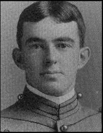 Dennis Michie - Michie as a cadet at West Point in 1890