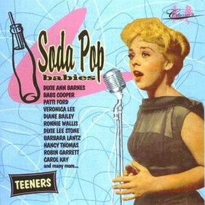 "Ann Barnes - Ann Barnes (as Dixie Ann Barnes) on Classics Records' ""Soda Pop Babies"" Audio CD"