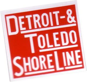 Detroit and Toledo Shore Line Railroad - Image: Dtsl logo