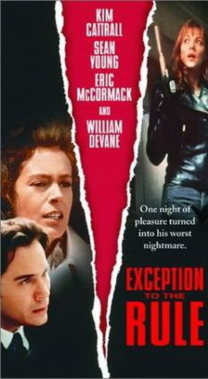 Exception to the Rule - VHS cover