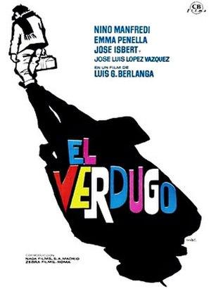 José Isbert - Poster of El verdugo.