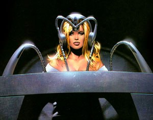Cerebro - Image: Emma Frost using Cerebro