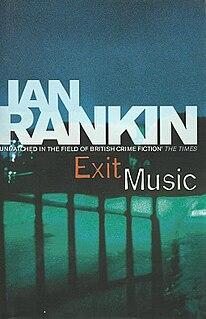 <i>Exit Music</i> book by Ian Rankin
