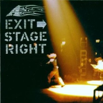 Exit Stage Right - Image: Exit Stage Right
