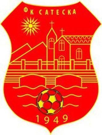 FK Sateska - Image: FK Sateska Logo