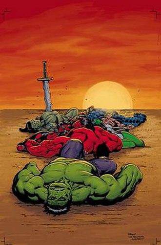 Fall of the Hulks - Image: Fall of the Hulks variant
