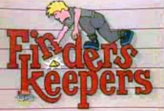 Finders Keepers (U.S. game show) - Intro title for Finders Keepers.