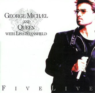 Five Live (George Michael and Queen EP) - Image: Five Live (Cover)