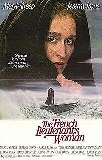 <i>The French Lieutenants Woman</i> (film) 1981 film directed by Karel Reisz