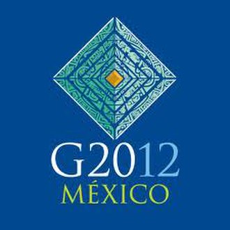 2012 G20 Los Cabos summit - The logo of the G20 Mexico 2012 summit