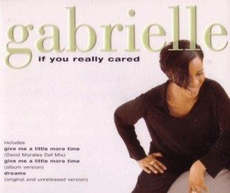 If You Really Cared - Image: Gabrielle If You Really Cared (CD 2)