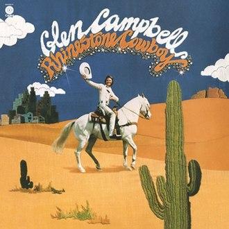 Rhinestone Cowboy (album) - Image: Glen Campbell Rhinestone Cowboy album cover