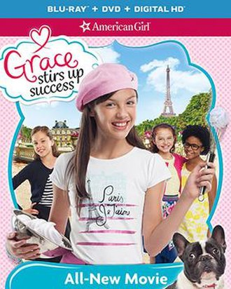 An American Girl: Grace Stirs Up Success - Cover art for the film.
