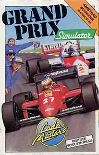 <i>Grand Prix Simulator</i> 1988 video game