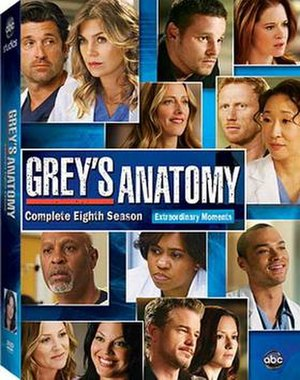 Grey's Anatomy (season 8) - Image: Greys Anatomy Season 8DVD