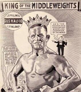 Gus Kallio Finnish professional wrestler