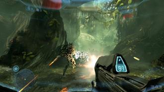 Halo 4 - Image: Halo 4 gamplay