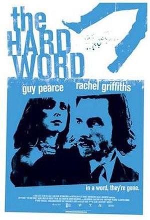 The Hard Word - Theatrical release poster