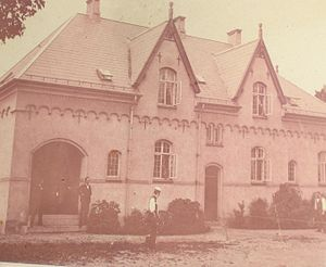 Hassagers Kollegium - Hassagers Collegium. The dormitory as it was from 1900 to 1951