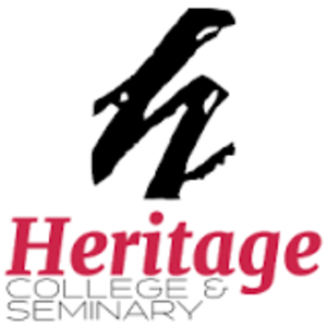 Heritage College & Seminary - Image: Heritage College & Seminary logo