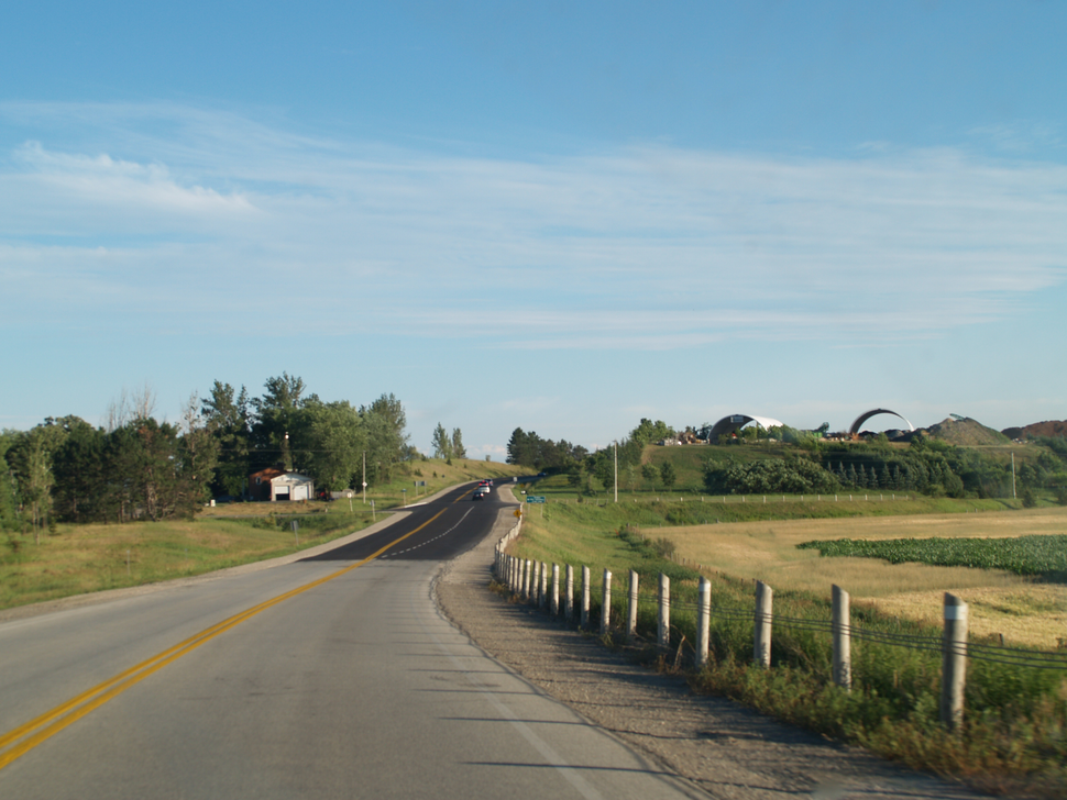Highway 27 bypass north of Schomberg