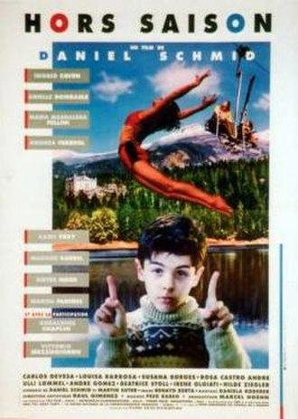 Off Season (1992 film) - Promotional poster