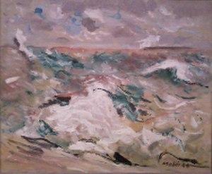 Hurricane (1944 painting) - Image: Hurricane John Marin
