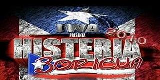 IWA Histeria Boricua IWA pay-per-view event series