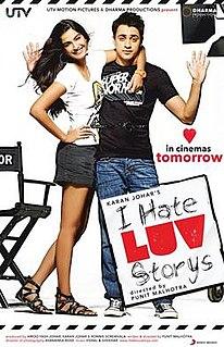 <i>I Hate Luv Storys</i> 2010 film by Punit Malhotra