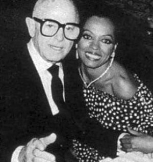 Irving Paul Lazar - Irving Lazar and Diana Ross