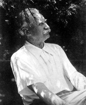 Jens Jensen (landscape architect) - Jensen in 1943