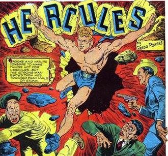 Hercules (DC Comics) - Quality Comics' Joe Hercules