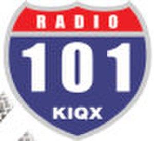 KIQX - Image: KIQX logo