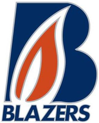 Kamloops Blazers - Image: Kamloops Blazers logo 2015