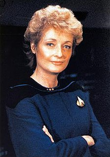 fictional character, chief medical officer in Star Trek: The Next Generation