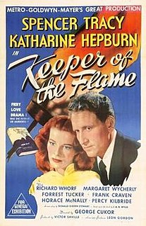 <i>Keeper of the Flame</i> (film) 1943 film by George Cukor