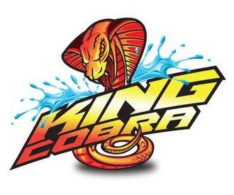 King Cobra (ride) - Image: King Cobra logo