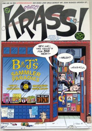 Hate (comics) - Image: Krass comic cover