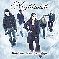 CD of Nightwish single Kuolema Tekee Taiteilijan (Death Makes an Artist)
