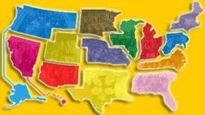 Lutheran Student Movement – USA - Regions of LSM-USA