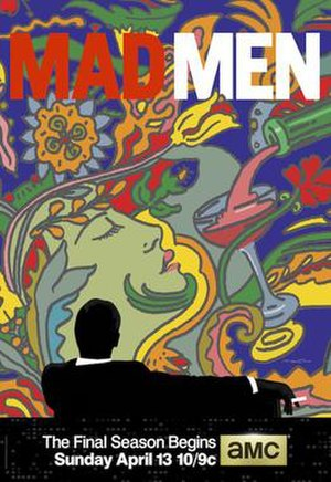 Mad Men (season 7) - Image: Mad Men Season 7, Promotional Poster