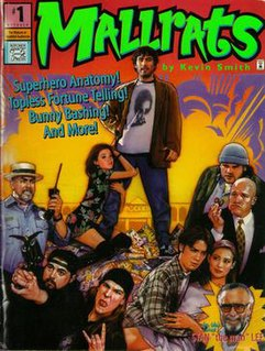 <i>Mallrats</i> 1995 American romantic comedy film directed by Kevin Smith