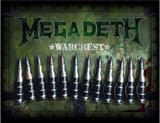 <i>Warchest</i> 2007 box set by Megadeth