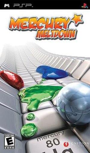 Mercury Meltdown - Image: Mercury Meltdown boxart