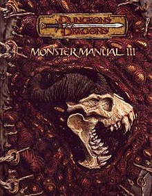 monster manual iii wikipedia rh en wikipedia org Monster Animated Armor Manual 2E DD Monster Manual