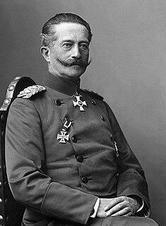 Moritz von Bissing German general