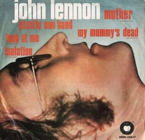My Mummy's Dead - Image: Mother Isolation Look at Me My Mummy's Dead EP cover
