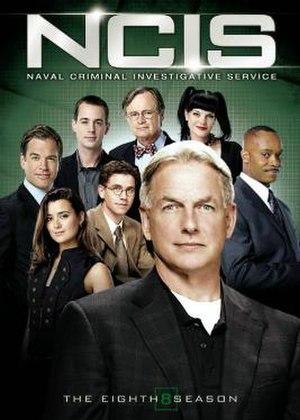 NCIS (season 8) - Season 8 U.S. DVD cover