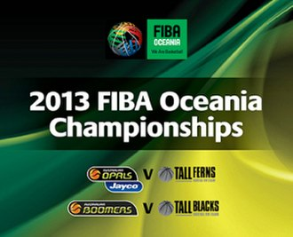 2013 FIBA Oceania Championship for Women - Image: Official logo of the 2013 FIBA Oceania Championship
